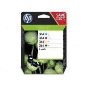 Cartouche d'encre HP 364 Pack de 4 cartouches noir/cyan/magenta/jaune