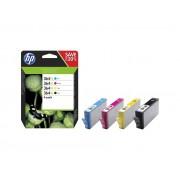 Cartouche d'encre HP 364 XL Pack de 4 cartouches noir/cyan/magenta/jaune