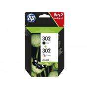 Cartouche d'encre HP 302 Pack