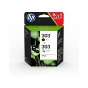 Cartouche d'encre HP 303 Pack 2 cartouches Noir / Couleur