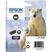 Cartouche d'encre EPSON 26 Noir Photo - ours