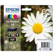 Cartouche d'encre EPSON 18 Multipack - Noir et couleur - Fleur