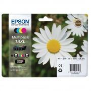 Cartouche d'encre EPSON 18 XL Multipack - Noir et couleur - Fleur