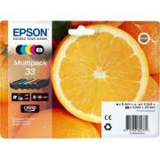 Cartouche d'encre EPSON 33 Multipack - Noir et Couleur - Orange