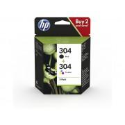 Cartouche d'encre HP 304 - 2 Pack
