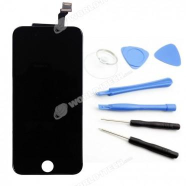 ecran de remplacement compatible noir iphone 6 kit outils offert. Black Bedroom Furniture Sets. Home Design Ideas