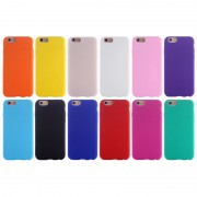 Coque Silicone Souple Couleur iPhone 6 6S