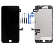 Ecran LCD COMPATIBLE Noir Complet Prémonté iPhone 7 - Kit Outils OFFERT