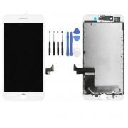 Ecran COMPATIBLE Blanc iPhone 8 + Kit Outils OFFERT