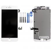 Ecran LCD COMPATIBLE Blanc Complet Prémonté iPhone 7 plus - Kit Outils OFFERT