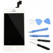 ecran lcd retina vitre tactile blanc iphone 5s origine apple outils