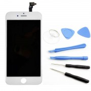 Ecran Blanc iphone 6 original apple outils vitre lcd