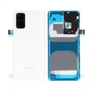 Vitre arrière blanche OFFICIELLE Samsung Galaxy S20+ 5G SM-G985F GH82-21634B