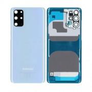 Vitre arrière bleu OFFICIELLE Samsung Galaxy S20+ 5G SM-G985F GH82-22032D