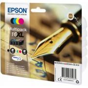 Cartouche d'encre EPSON 16 Multipack Noir et Couleur - Stylo Plume