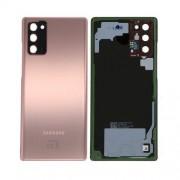 Vitre arrière bronze origine officielle Samsung Galaxy Note 20 SM-N980/N981 GH82-23299B