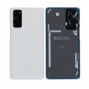 Vitre arrière blanche OFFICIELLE Samsung Galaxy S20 FE SM-G780F GH82-24263B