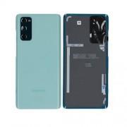 Vitre arrière verte OFFICIELLE Samsung Galaxy S20 FE SM-G780F GH82-24263D