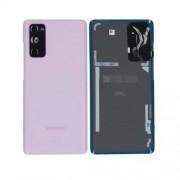 Vitre arrière rose OFFICIELLE Samsung Galaxy S20 FE SM-G780F GH82-24263C