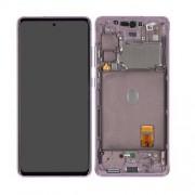 Ecran sur chassis violet lavande OFFICIEL Samsung S20 FE 4G / 5G GH82-24220C SM-G780 / SM-G781