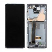 Ecran AMOLED ORIGINE Samsung blanc argent S20 Ultra SM-G988F - Kit Outils OFFERT GH82-22271B GH82-22327C GH82-22271C