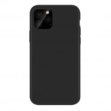 Coque noire silicone souple Samsung A42 5G