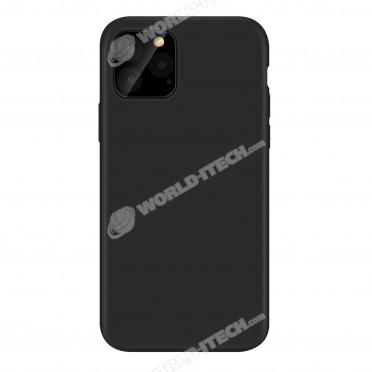 Coque noire silicone souple Samsung S21