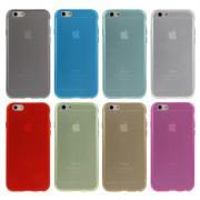 Coque TPU Translucide Couleur iPhone 6 6S