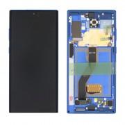 Ecran sur chassis bleu OFFICIEL Samsung Note 10 plus SM-N975F - Kit Outils OFFERT GH82-20900D / GH8220838D