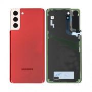 Vitre arrière Rouge OFFICIELLE Samsung Galaxy S21+ G996F GH82-24505G
