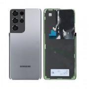 Vitre arrière Gris Titanium OFFICIELLE Samsung Galaxy S21 Ultra 5G GH82-24499C