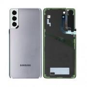 Vitre arrière argent silver OFFICIELLE Samsung Galaxy S21+ G996F GH82-24505C
