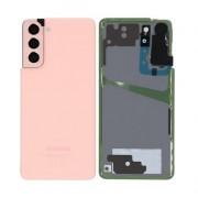 Vitre arrière rose OFFICIELLE Samsung Galaxy S21+ SM-G990F / SM-G991F GH82-24520D