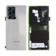 Vitre arrière blanche origine officielle Samsung Galaxy Note 20 Ultra SM-N986 / SM-N988 GH82-23281C