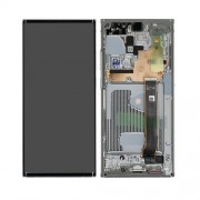 Ecran sur chassis blanc argent OFFICIEL Samsung Note 20 ultra sm-N986 sm-n988 - Kit Outils OFFERT GH82-23596C