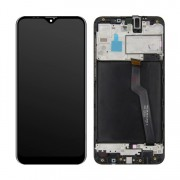 Ecran sur chassis Noir LCD ORIGINE Samsung A10 SM-A105F - Kit Outils OFFERT