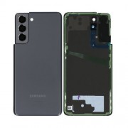 Vitre arrière gris OFFICIELLE Samsung Galaxy S21+ SM-G990F / SM-G991F GH82-24519A