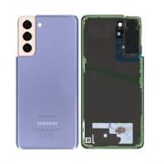Vitre arrière violet OFFICIELLE Samsung Galaxy S21+ SM-G990F / SM-G991F GH82-24520B