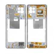 Chassis intermédiaire blanc OFFICIEL Samsung A42 5G SM-A426B GH97-25855B