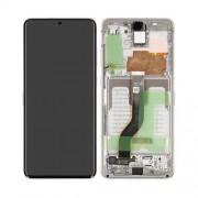 Ecran AMOLED ORIGINE Samsung blanc S20+ SM-G985F - Kit Outils OFFERT GH82-22134B