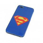 Coque bleu Superman iPhone 5 5S