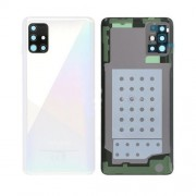 Vitre arrière blanc OFFICIELLE Samsung Galaxy A51 SM-A515F GH82-21653A