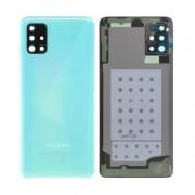Vitre arrière bleu OFFICIELLE Samsung Galaxy A51 SM-A515F GH82-21653C
