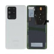 Vitre arrière blanche OFFICIELLE Samsung Galaxy S20 Ultra GH82-22217C SM-G988F / SM-G988B