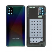 Vitre arrière noir OFFICIELLE Samsung Galaxy A51 SM-A515F GH82-21653B