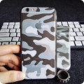 Coque silicone camouflage militaire iPhone 6 6S 2