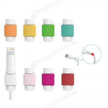 Protection renfort couleur réparation cable iPhone